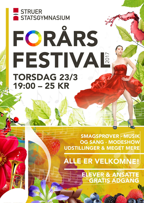 Spring Festival Posters Jonatan Ronsholdt Design